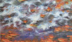 Wo Licht an die Wolken kommt