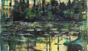 Der Teich im Abendlicht